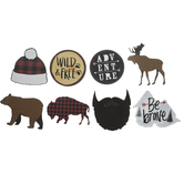 Lumberjack Stickers