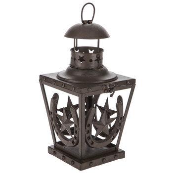 Horseshoe Metal Lantern