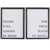 There Will Always Be Room Wood Wall Decor Set