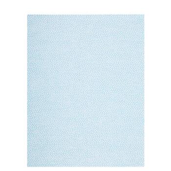 "Robin's Egg Blue Random Dot Scrapbook Paper - 8 1/2"" x 11"""