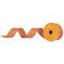 Orange Metallic Wired Edge Ribbon - 1 1/2