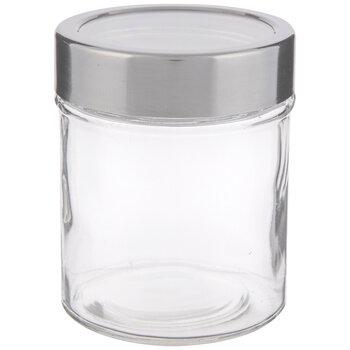 Stainless Steel Window Lid Glass Mason Jar - 10 Ounce