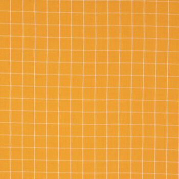 Graph Check Linen Fabric
