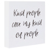 Kind People Wood Wall Decor