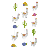 Llama & Cactus Hanging Decorations