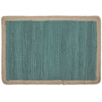 Blue & Cream Woven Placemat