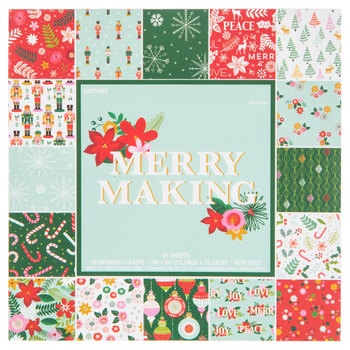 "Merry Making Paper Pack - 6"" x 6"""