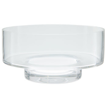Wide Circle Glass Candle Holder