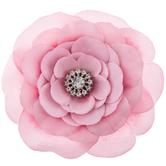 Pink 2-Tone Flower Hair Clip