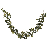 Green Laurel Leaf Garland