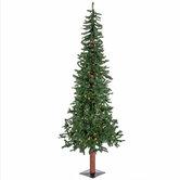 Alpine Pre-Lit Christmas Tree - 6'