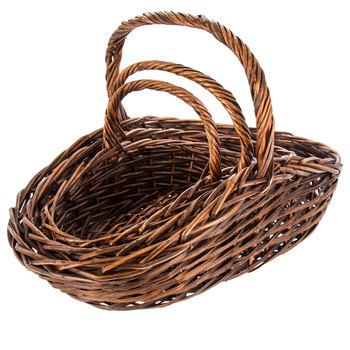Brown Willow Basket Set