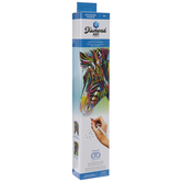Colorful Zebra Diamond Art Advanced Kit