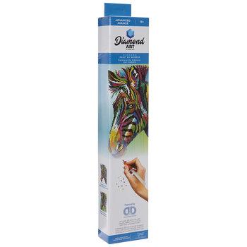 Colorful Zebra Diamond Art Advanced Kit