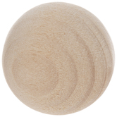 "Round Wood Balls - 3/4"""