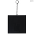 Black Metal Wall Frame With Chain - 4