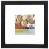 "Black Wood Float Wall Frame - 4"" x 4"""
