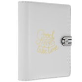 Good Things Take Time Personal Planner Binder