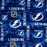 NHL Tampa Bay Lightning Fleece Fabric