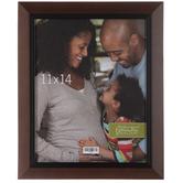 "Walnut & Black Wood Wall Frame - 11"" x 14"""