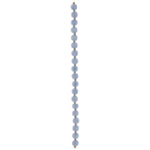 Iridescent Blue Glass Bead Strand