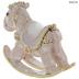 Pink Rocking Horse Jewelry Box