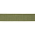 Green Faux Linen Wired Edge Ribbon - 1 1/2
