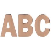 Foil Alphabet Stickers