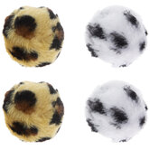 Animal Print Round Bell Ball Cat Toys