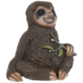 Sloth With Tree Branch