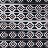 Boho Rust Aztec Apparel Fabric
