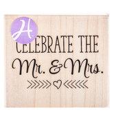 Celebrate Mr. & Mrs. Rubber Stamp