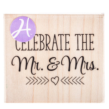 Celebrate Mr. & Mrs. Rubber Stamp