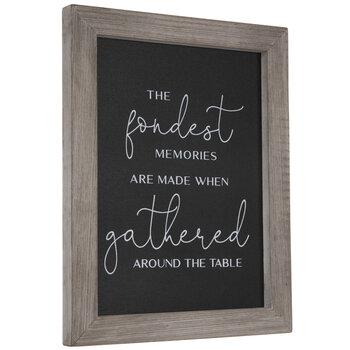 The Fondest Memories Wood Decor