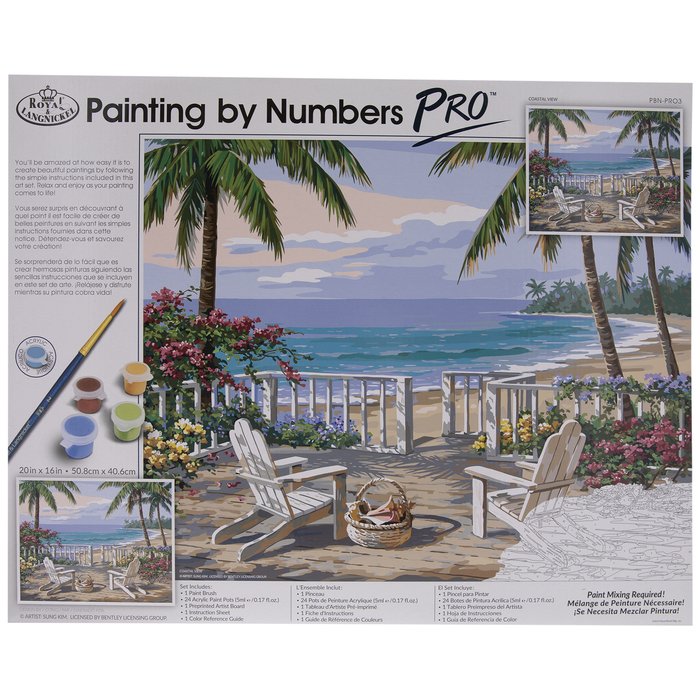 Paint By Numbers DIY Kit-Dream star ocean-Creative Wall Painting Handmade Gift Home Decoration-DIY Valentine/'s Day present