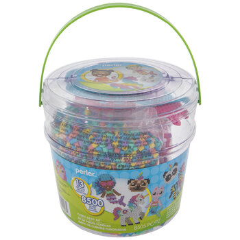 Believe In Magic Fused Bead Bucket
