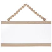 Beaded Screen Wood Wall Decor