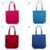 Assorted Canvas Tote Bag