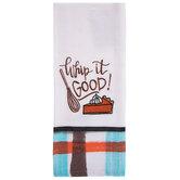 Whip It Good Plaid Kitchen Towel