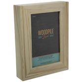 "Wood Frame With Sliding Panel - 4"" x 6"""