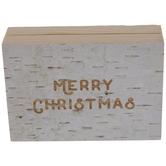 Merry Christmas Wood Decor