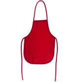 Red Woven Child's Apron