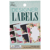 Pretty Petals Designer Labels