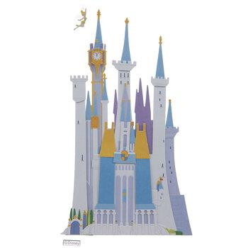 Disney Castle 3D Stickers