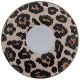 Leopard Print Saucer Plate