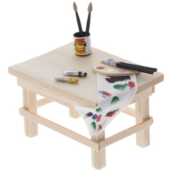 Miniature Artist's Workbench