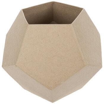Paper Mache Geometrical Planter