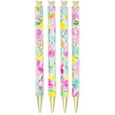 Floral Pens - 4 Piece Set