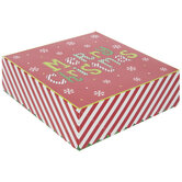 Merry Christmas Patterned Treat Boxes