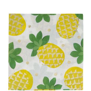 Pineapple & Polka Dot Napkins - Large